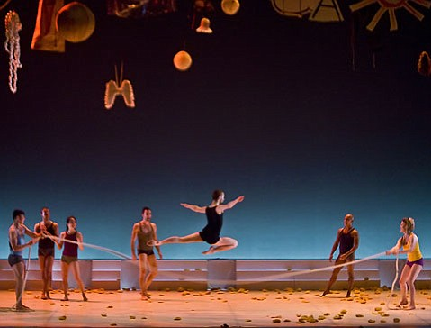 """Les 4 Saisons."" Presented by Ballet Preljocaj at the Granada, Tuesday April 28."