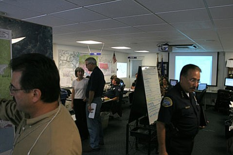 Santa Barbara's Emergency Operations Center (EOC), Jesusita Fire