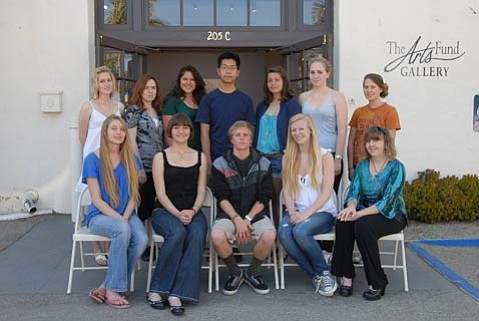 2009 Teen Arts Mentorship students