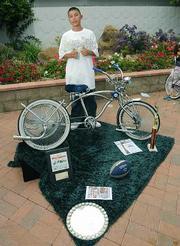 Riding Low Bike Club member Sergio Medrano