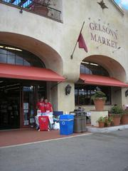 The AIGA fundraising booth at Gelson's.