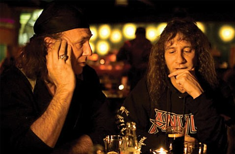 <em>Anvil! The Story of Anvil</em> follows the ups and downs of the Canadian heavy metal band.