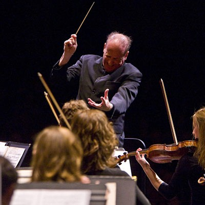 Maestro Larry Rachleff is a favorite among the Music Academy fellows.