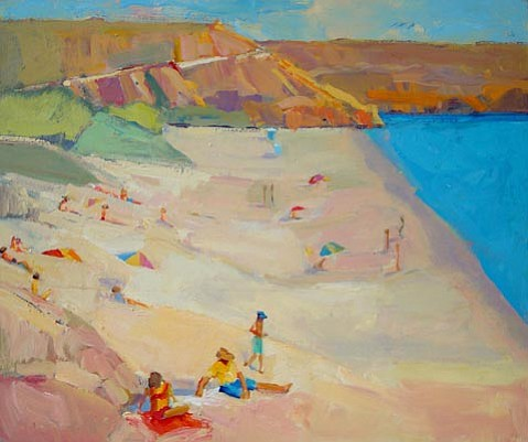 """At the Beach"" by Kathleen Elsey"""