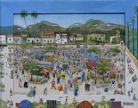 """Ralph Auf der Heide's """"Farmer's Market."""""""