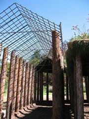 Herb Parker's Botanic Garden sculpture.