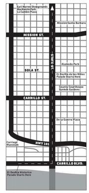 Fiesta Parade Route