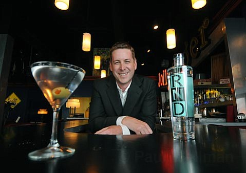 Michael Wyrsta, pictured at Roy, worked to develop RND Vodka.