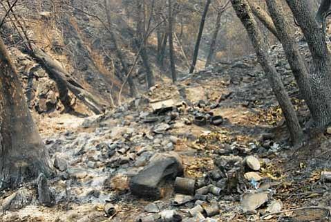 The origin of the La Brea fire.