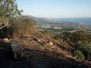 Overlook at the upper end of the Toro Canyon Ridge Trail recently re-opened by MTF.