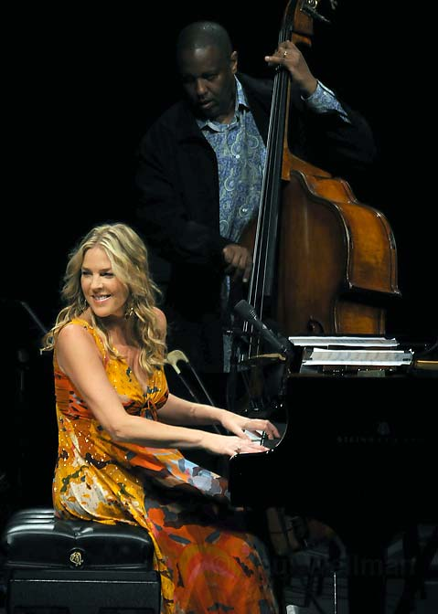 Diana Krall Filled Her Sunday Night Stint At The Santa Barbara Bowl With Beautiful Music From