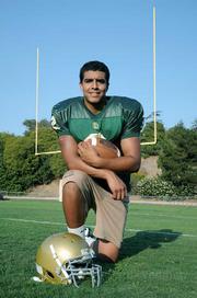 SBHS Quarterback RJ Rosborough
