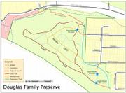 Map of the DFP courtesy of the Santa Barbara Trails Council.