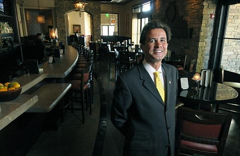 <strong>Good Grub:</strong> Ruth's Chris Manager Hakan Kocak knows how to pair food and drink with excellent service at the Santa Barbara outpost of this chain restaurant.