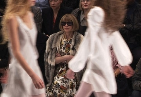 Vogue editor Anna Wintour is front and center in <em>The September Issue</em>.