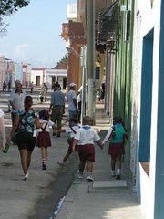 Bayamo schoolchildren