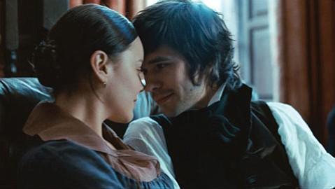 Abbie Cornish stars as Fanny Brawne and Ben Whishaw as poet John Keats in <em>Bright Star</em>.