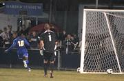 UCSB's Machael David scores in the second half of the match against Indiana