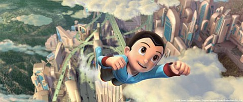 The antics of Astro Boy (voiced by Freddie Highmore) will likely charm you, and then put you to sleep.
