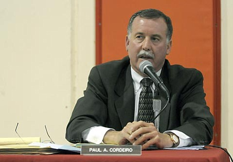 <strong>No apologies:</strong>  Carpinteria School District Superintendent Paul Cordeiro says his office did everything it could to adequately address safety concerns raised during Eli Cordero's protest against Carp High's mascot.