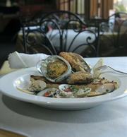 Fresh, local abalone at Bay Cafe