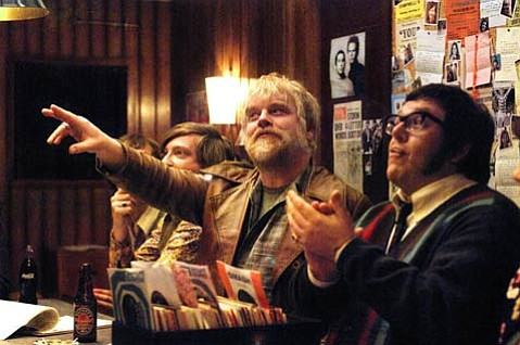 Philip Seymour Hoffman stars as The Count, an expert rock 'n' roll hipster, in <em>Pirate Radio</em>, a tale of saving rock through ship-based broadcasting.