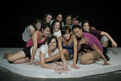 The cast of <em>Beauty Bomb</em>