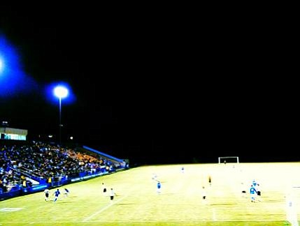 The UCSB Gauchos battle the Wofford College Terriers Thursday night at Harder Stadium.