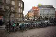 Bikes are everywhere in Copenhagen and most of them aren't even locked.