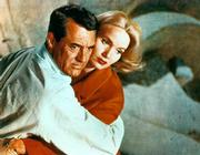 Eva Marie Saint and Cary Grant in <em>North by Northwest</em>