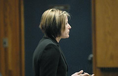 Deputy District Attorney Mary Barron
