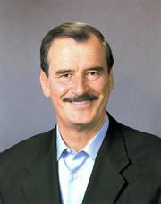 Former Mexican President Vicente Fox