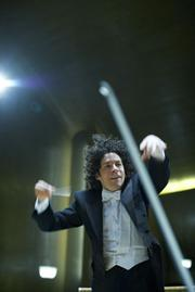 Gustavo Dudamel, the new music director of the Los Angeles Philharmonic.