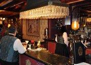 The bar at Club 33.