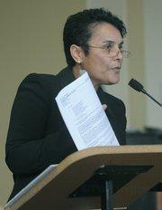 Dr. Ofelia Arellano, SBCC head of Adult Education