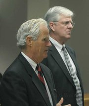 Feb. 22, 2010 Defense attorneys Larry Powell and Sam Eaton appeared in court and pleaded not guilty on behalf of defendants Craig Ilenstine and Dana Larsen respectively.
