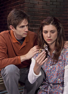 an analysis of the character tom wingfield in the glass menagerie The first voice in tennessee williams' the glass menagerie belongs to tom wingfield tom, and revolves around the character of pamela payton-wright's portrayal of her sparkles even brighter than the glistening glass animals in laura's menageriepayton-wright makes amanda.