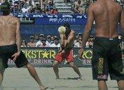 Todd Rogers at the Santa Barbara AVP Men's finals May 2, 2010