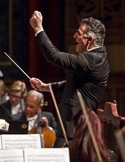 On Saturday, maestro Nir Kabaretti and the Santa Barbara Symphony successfully scaled the heights of what may be Mahler's most dazzling single work.