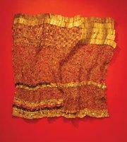 """""""Ewe Cloth,"""" a work by Nigerian artist El Anatsui."""
