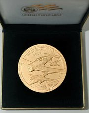 Congressional Gold Medal, back