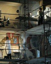 Mural Room restoration