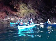 Santa Barbara Adventure Company's guided tour of Painted Cave and other Santa Cruz Island sea caverns