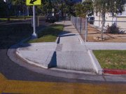Aliso Street wheelchair ramp