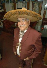 Pascual Gamboa in Fiesta gear