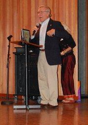 Keynote speaker Peter MacDougall, Ed.D