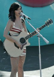 Katy Perry at Dos Pueblos High School Sept. 14, 2010
