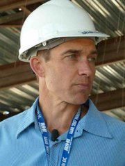 Airport Project Manager Leif Reynolds