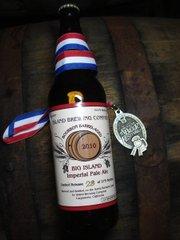 Island Brewing's winning beer.