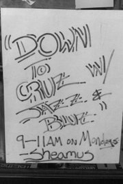 Down to Cruz poster